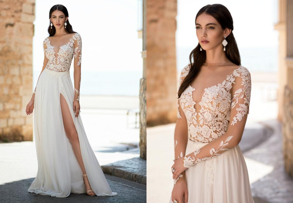 Осенние свадебные платья фото 2016