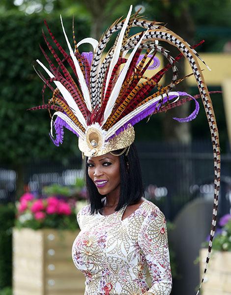 Королевские скачки в Аскоте: парад шляп | галерея [1] фото [7]