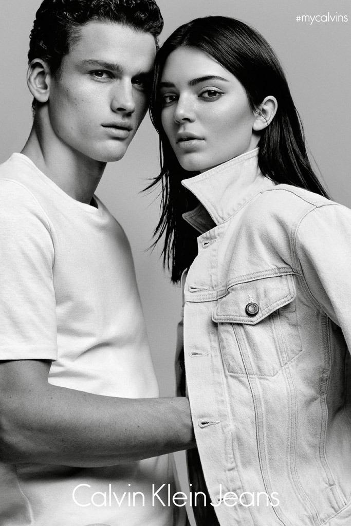 Кендалл Дженнер рекламирует Calvin Klein