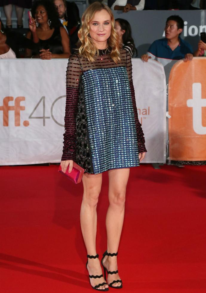 Диана Крюгер в Prada на кинофестивале в Торонто