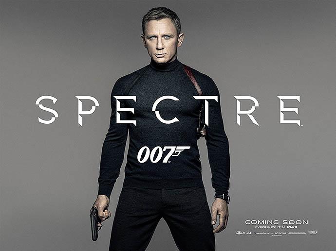 "Постер фильма ""007: Спектр"""