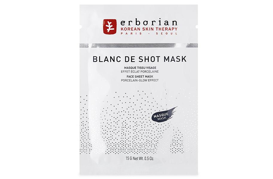 Erborian Face Sheet Mask Porcelain-Glow Effect