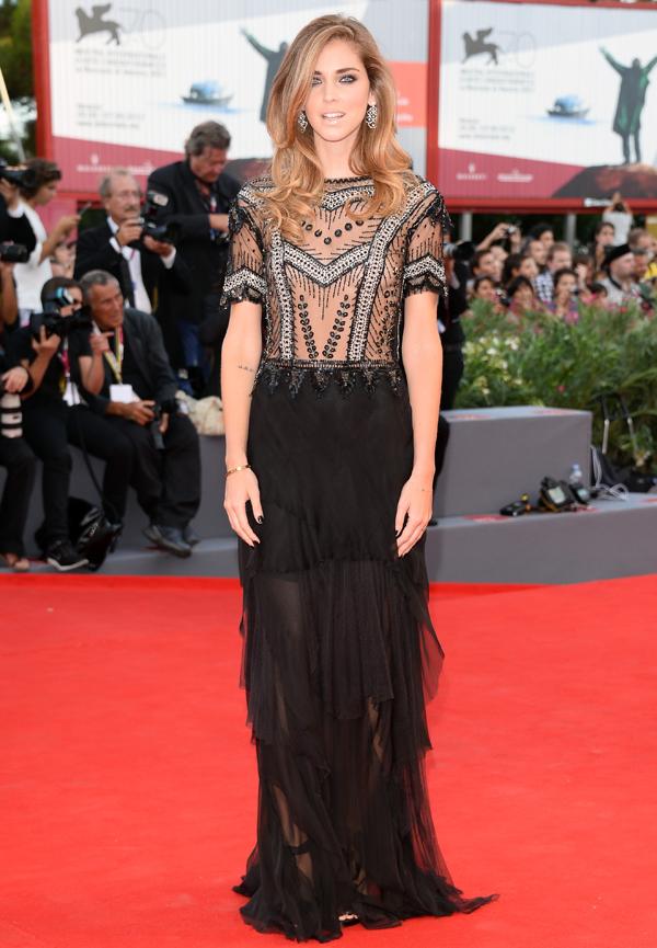 Кьяра Ферраньи на Международном Венецианском кинофестивале 2013