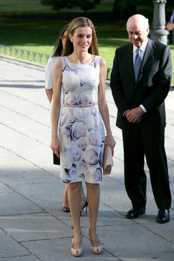 Первая леди Испании в платье от Hugo Boss