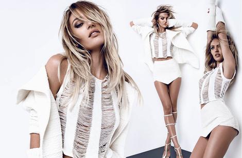 Кэндис Свейнпол снялась в новой рекламной кампании Osmoze | галерея [1] фото [11]