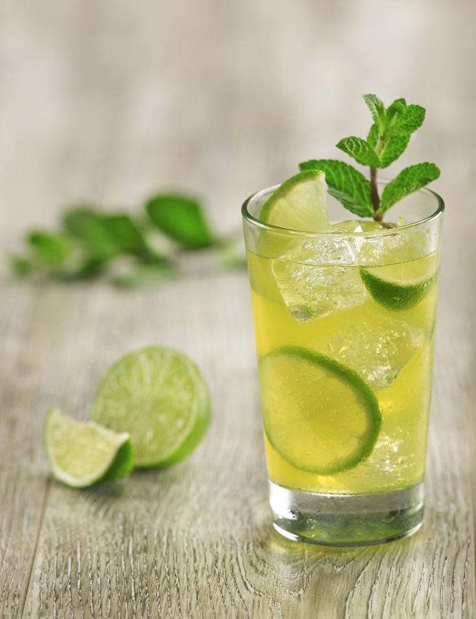 Лимонад с лаймом и мятой