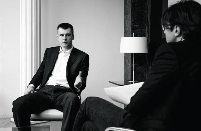 михаил прохоров интервью