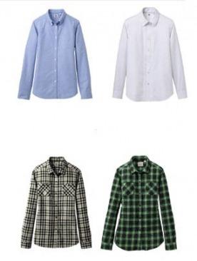 Коллекция базовых рубашек UNIQLO