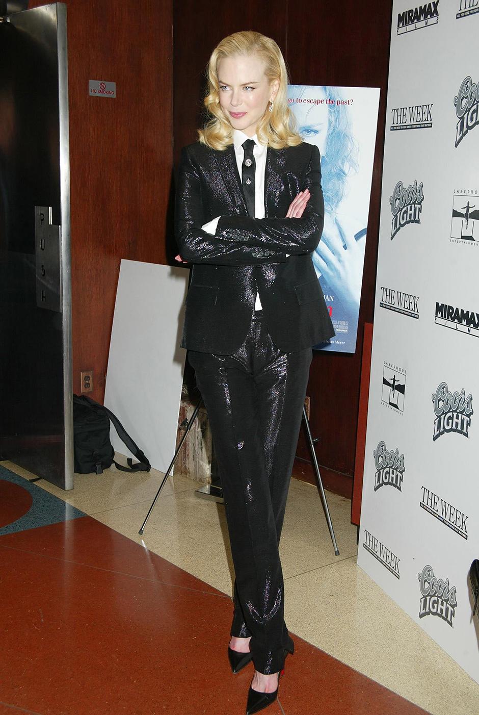 В костюме Dior Homme, 2003 год