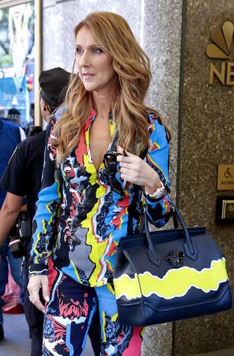 Селин Дион в Versace