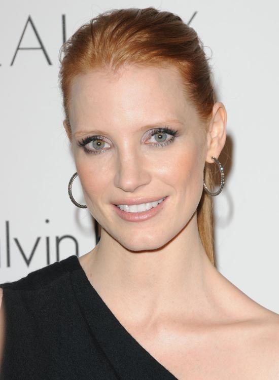 Октябрь 2010, премия журнала ELLE «Женщины в Голливуде», Лос-Анджелес Джессика Честейн