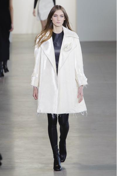 Показ Calvin Klein на Неделе моды в Нью-Йорке | галерея [1] фото [9]