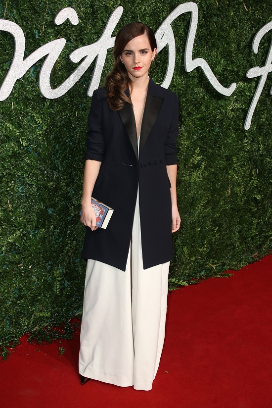 Misha Nonoo и Dior на церемонии British Fashion Awards в Лондоне, 2014