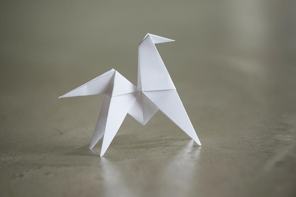 бумажные фигурки-оригами
