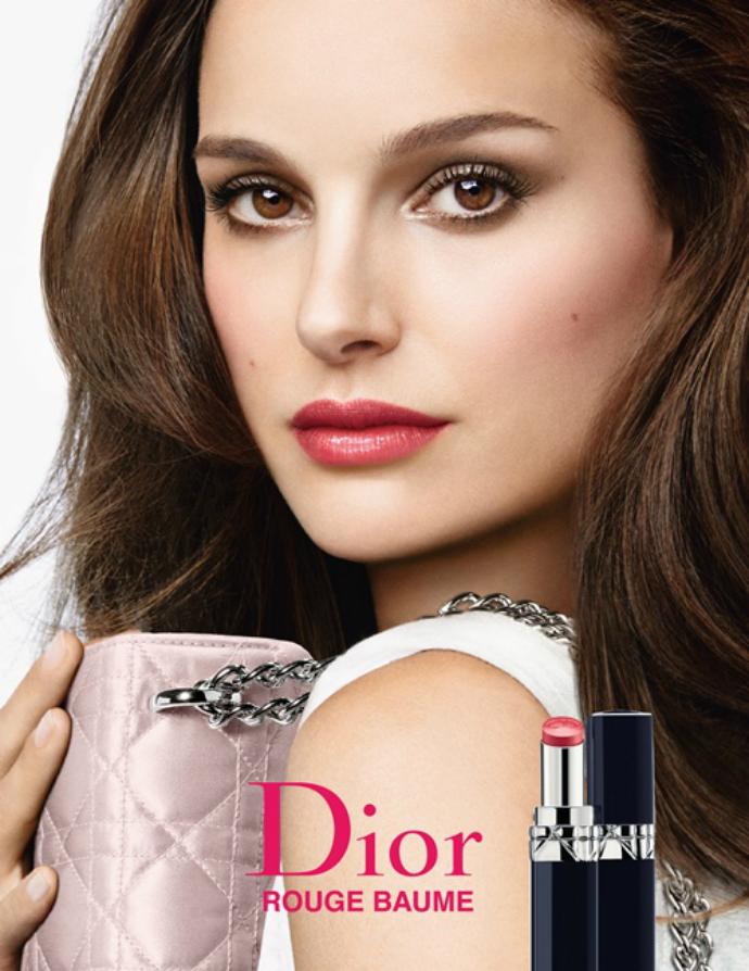Натали Портман в рекламной кампании Dior
