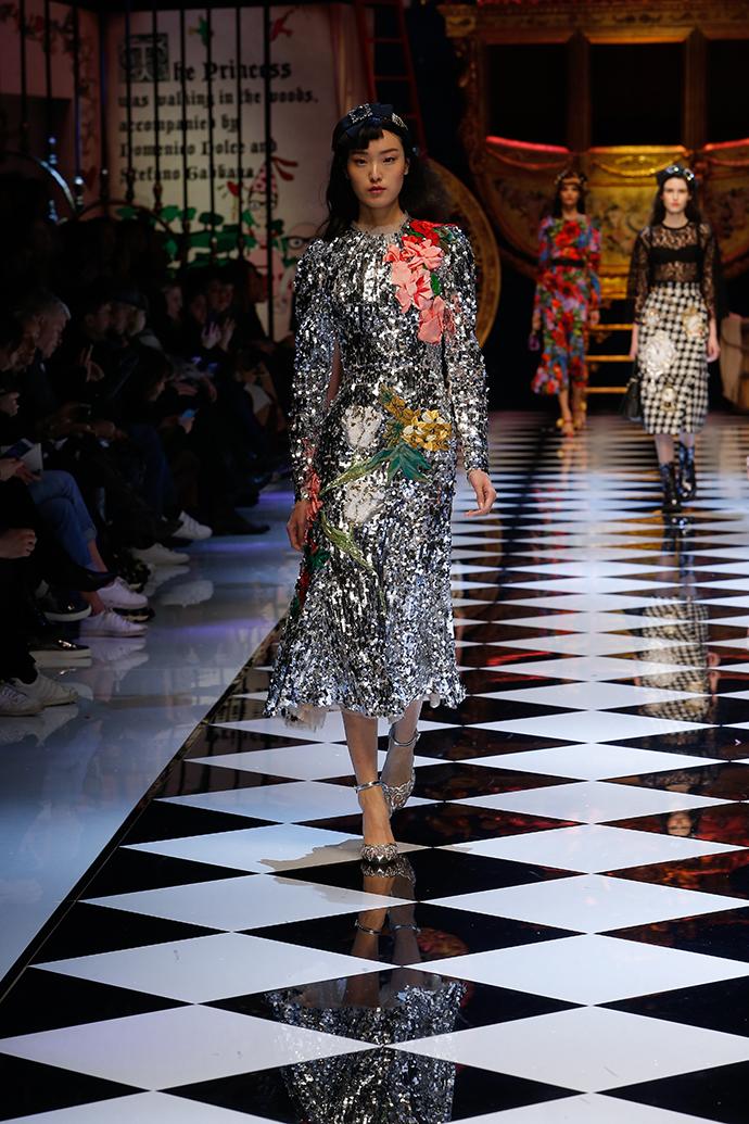 Dolce & Gabbana, осень-зима 2016