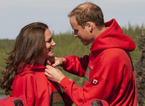 История любви Кейт Миддлтон и принца Уильяма в фотографиях | галерея [1] фото [5]