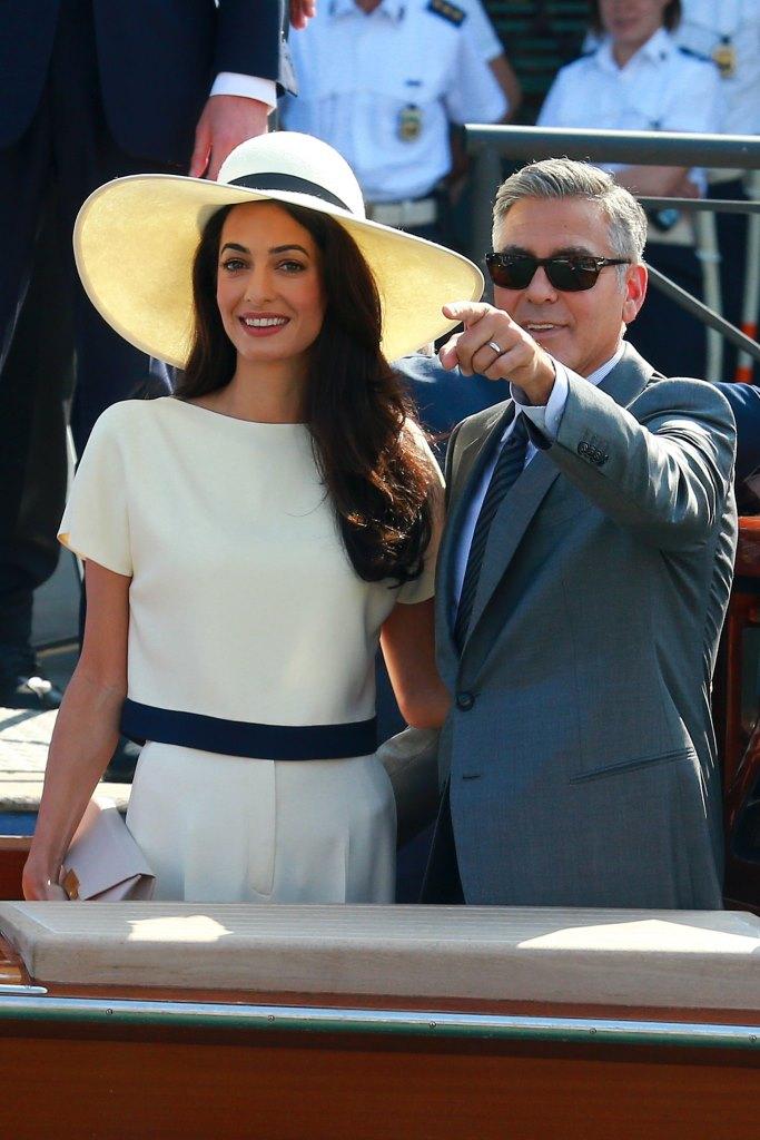Миссис Клуни: Амаль Аламуддин официально сменила фамилию