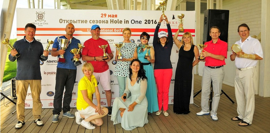 В Москве открыли новый сезон игры в гольф