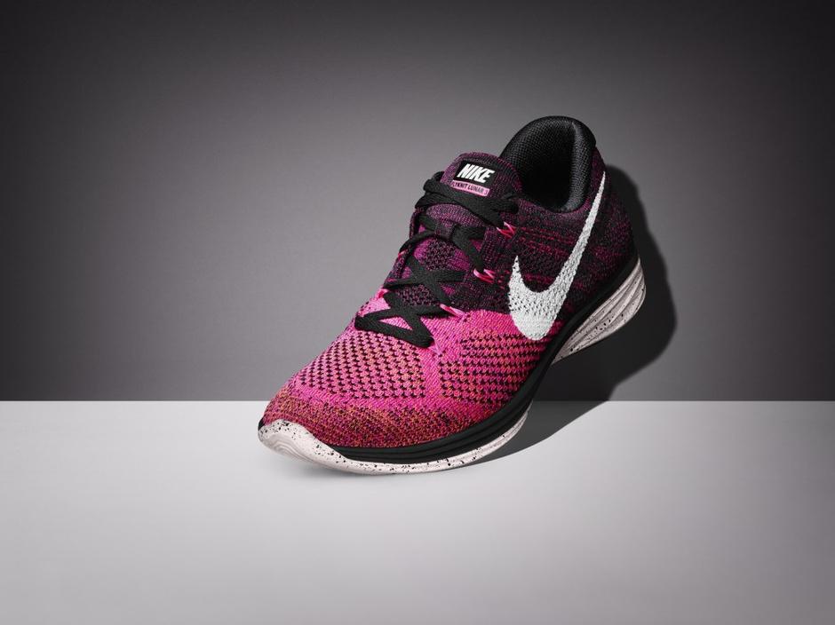 Nike представляет третье поколение беговых кроссовок Flyknit Lunar 3