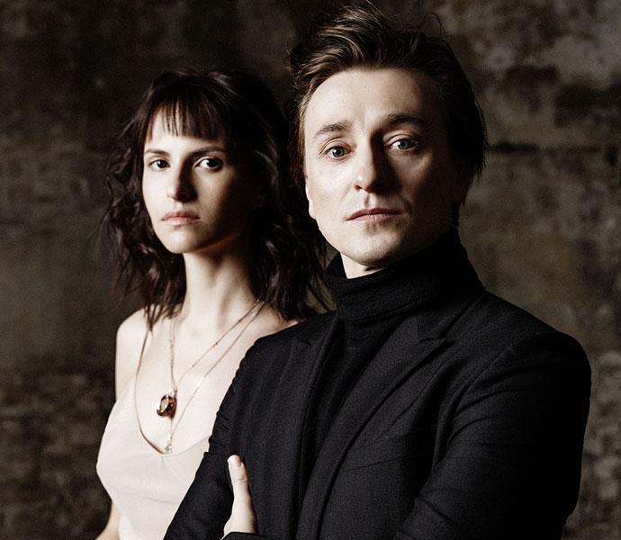 Сергей Безруков и Анна Матисон фото ELLE