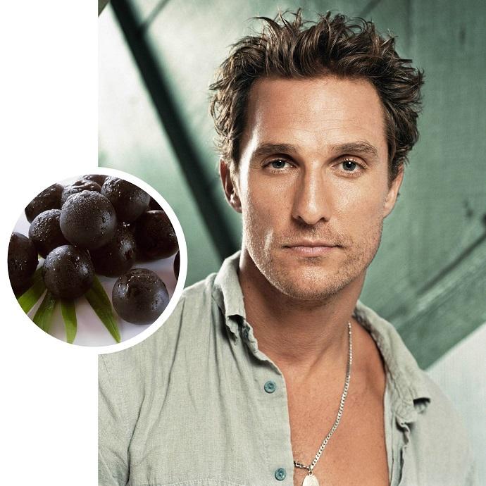 Мэтью МакКонахи каждое утро ест ягоды асаи