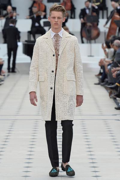 Показ Burberry Prorsum на Неделе мужской моды в Лондоне | галерея [2] фото [21]