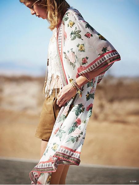Фестивальная коллекция H&M Loves Coachella | галерея [1] фото [9]