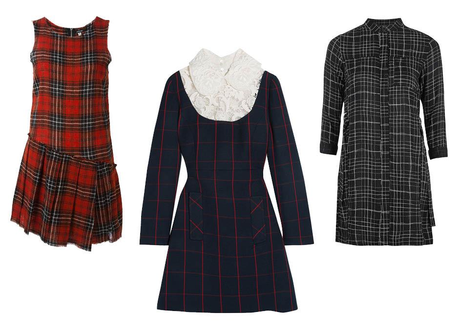 Платье в школьном стиле Rag&Bone, Miu Miu, TopShop