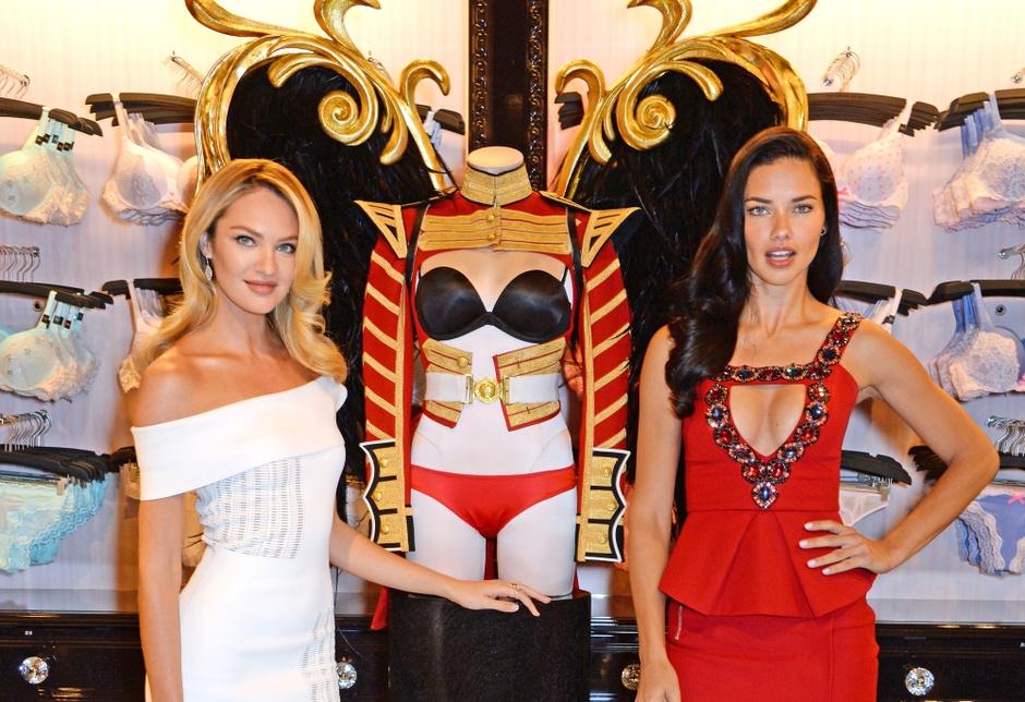 Модный показ Victoria's Secret 2014