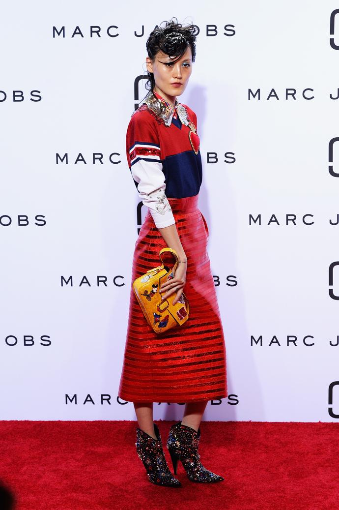 Показ Marc Jacobs в Нью-Йорке
