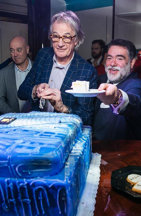 Пол Смит побывал на вечеринке в честь 10-летия первого магазина бренда в Москве