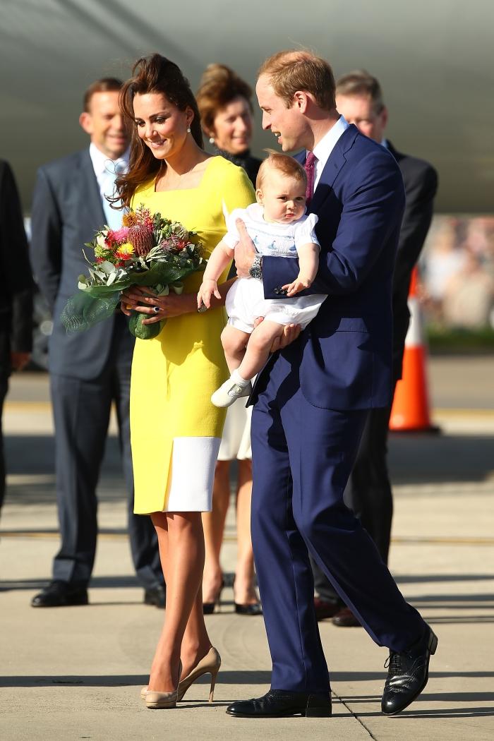 Кейт Миддлтон, Принц Уильям и принц Георг