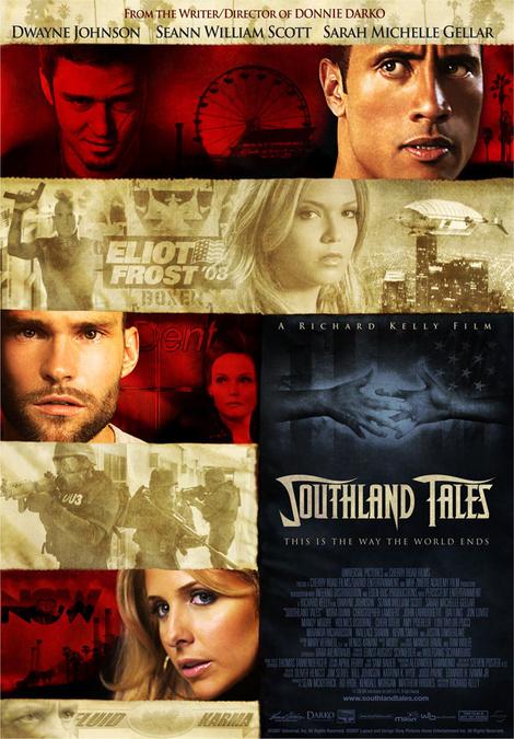 №10 «Сказки юга» (Southland Tales), 2006 антиутопии