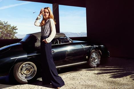 Лиззи, Джорджия Мэй Джаггер и Джерри Холл в рекламе Reserved | галерея [1] фото [4]