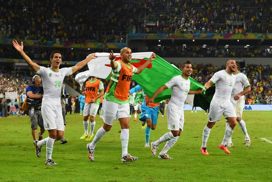Российская сборная отправляется домой после игры вничью с Алжиром