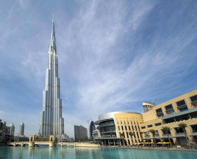 Burj Khalifa и Dubai Mall