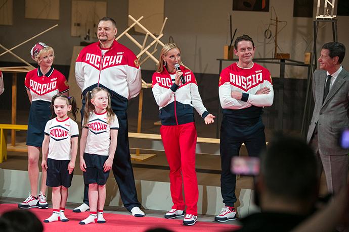Презентация новой формы Олимпийской команды России