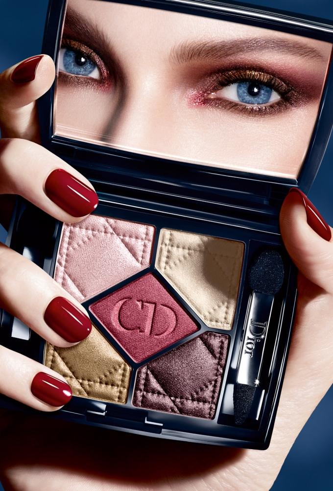 Макияж глаз от Christian Dior
