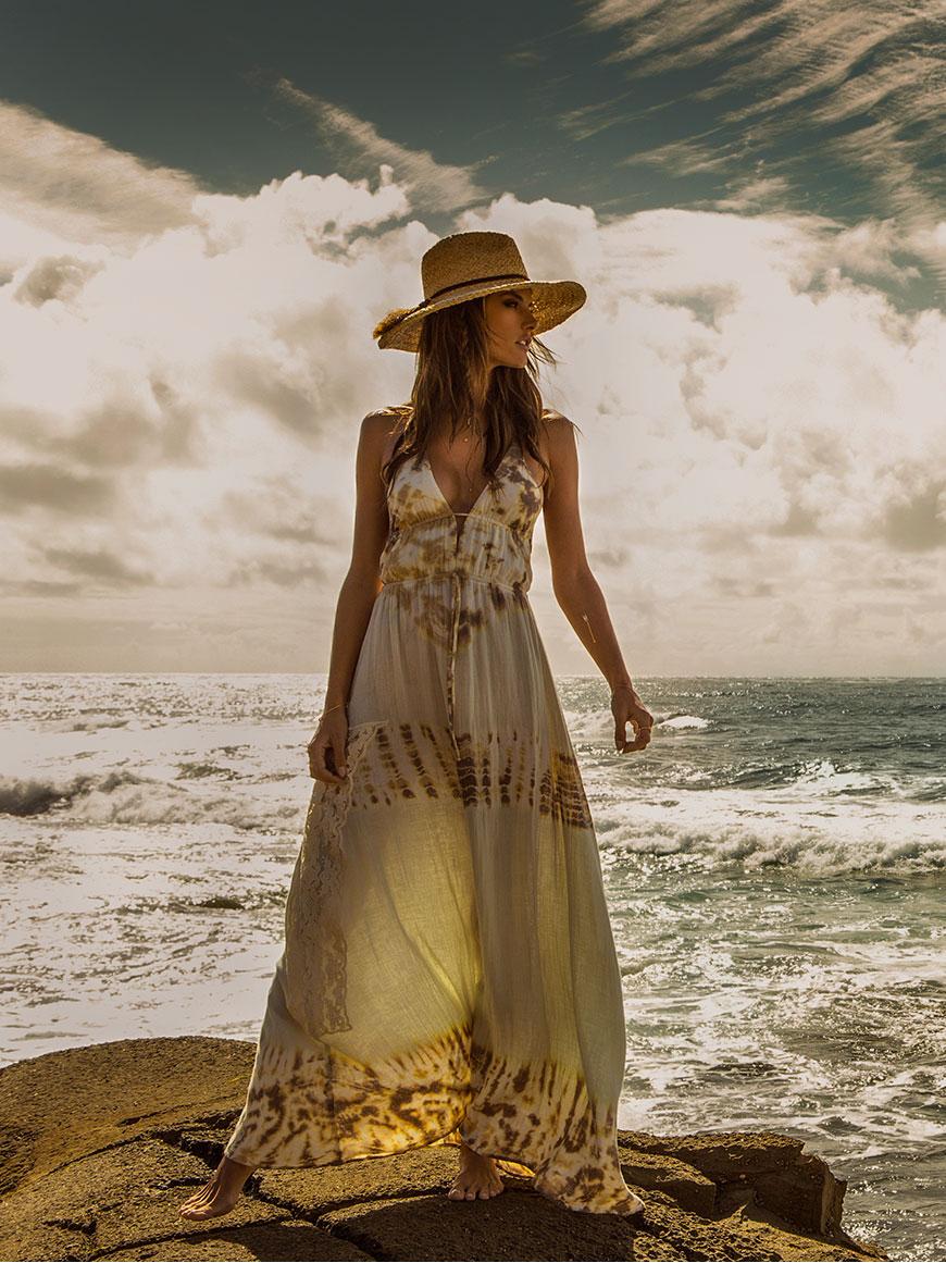 Модное платье-макси: фото