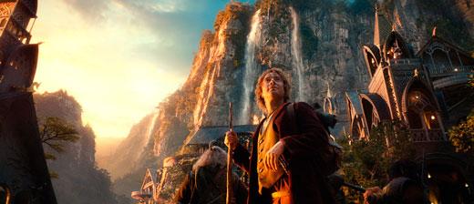 кадр из трилогии «Хоббит»