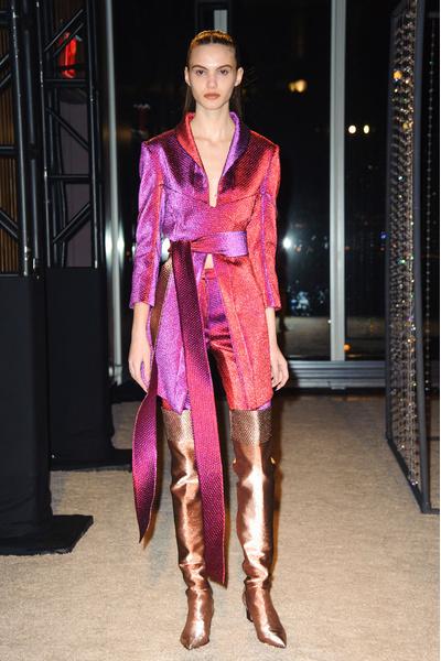 Самые красивые образы Недели моды в Нью-Йорке | галерея [1] фото [68]