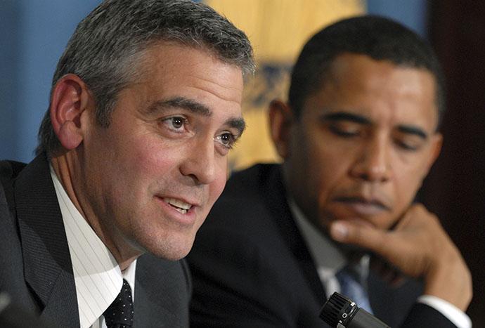 Джордж Клуни метит в президенты фото