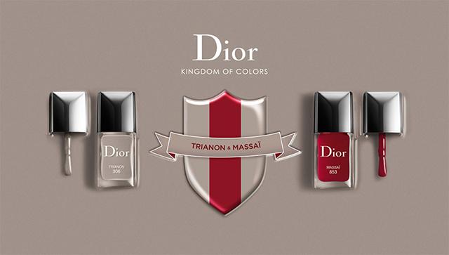 Лаки для ногтей Christian Dior
