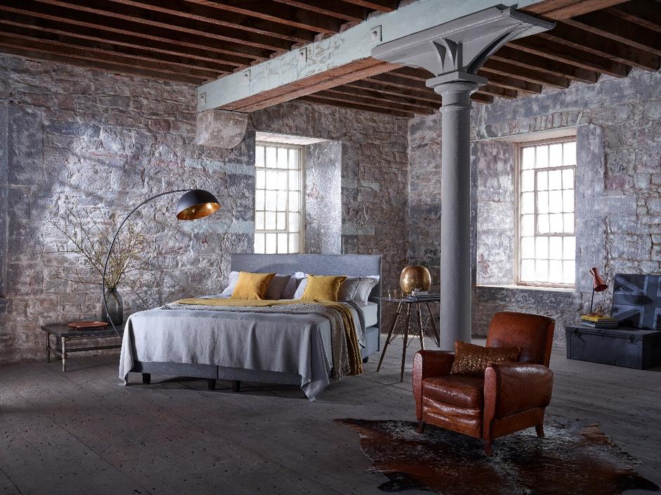 Кровать Britannica из ограниченной коллекции от фабрики Vispring