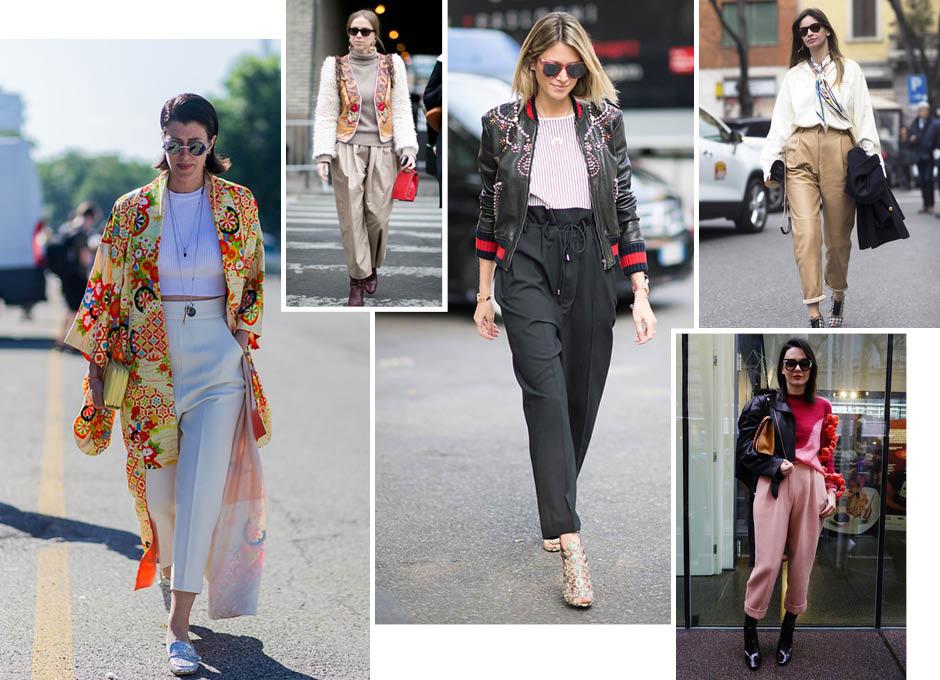 Все на базу: модные осенние брюки