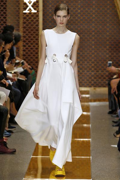 50 лучших платьев Недели моды в Милане | галерея [1] фото [32]