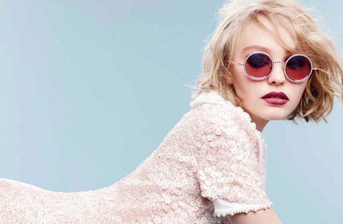 Лили-Роуз Депп в рекламе Chanel