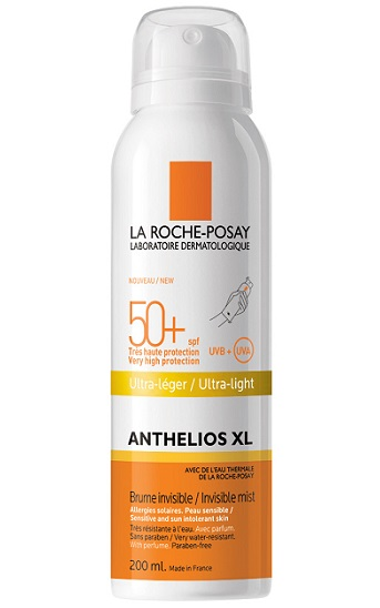 Солнцезащитный спрей-вуаль Anthelios XL SPF 50+, PPD 25 от La Roche-Posay