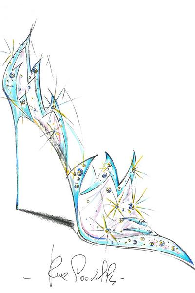 Известные дизайнеры обуви представили свои версии туфель Золушки   галерея [1] фото [2]